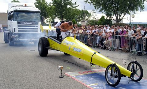 Comp�tition Dragster � P�dales